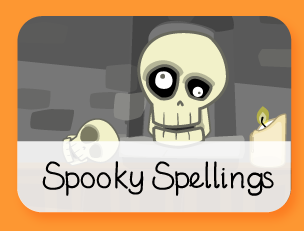 Image result for spooky spellings